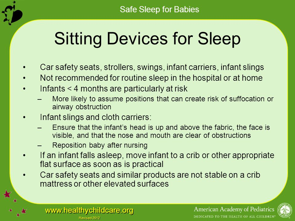 Sitting Devices for Sleep