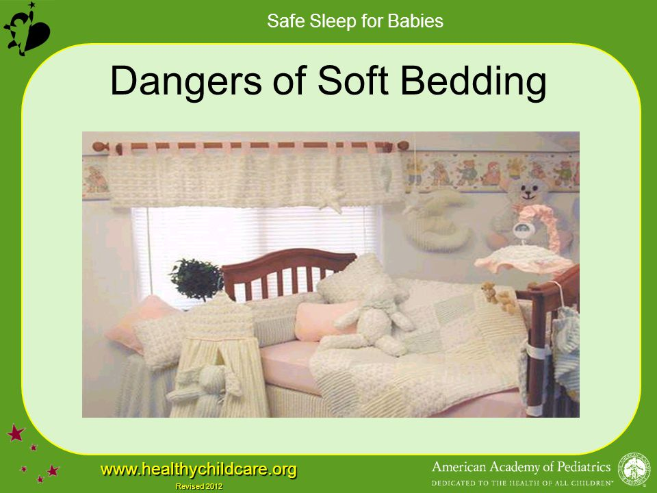 Dangers of Soft Bedding