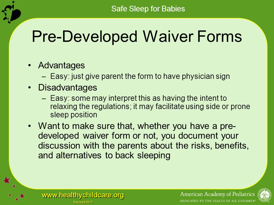 Pre-Developed Waiver Forms