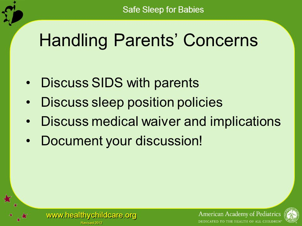 Handling Parents' Concerns