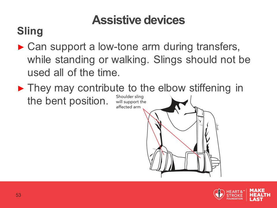 Assistive devices Sling