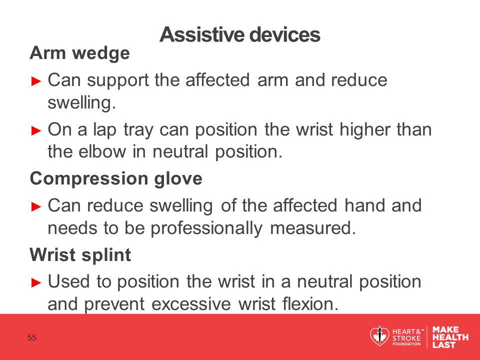 Assistive devices Arm wedge