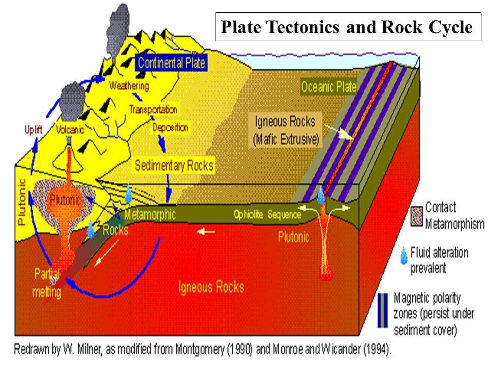 Plate Tectonics and Rock Cycle