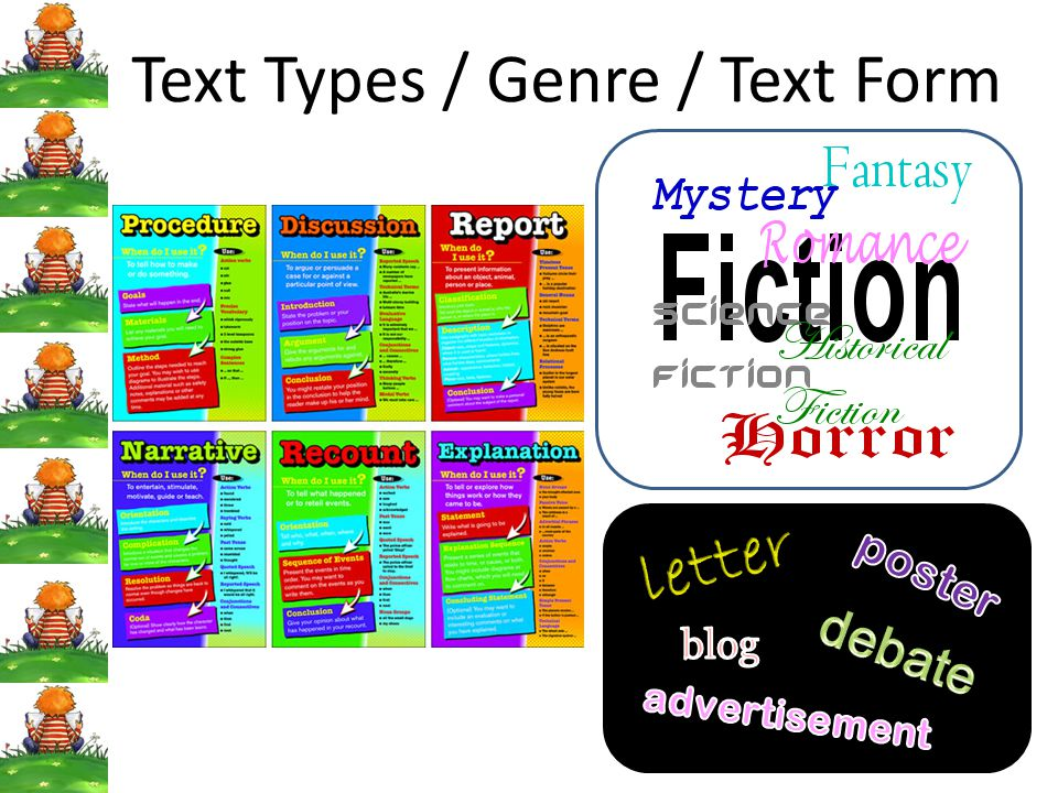 Text Types / Genre / Text Form