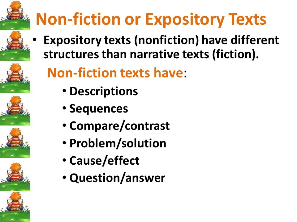 Non-fiction or Expository Texts
