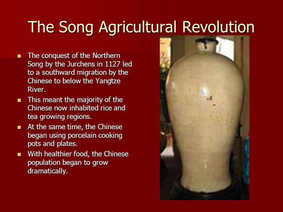 The Song Agricultural Revolution