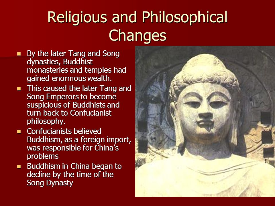 Religious and Philosophical Changes