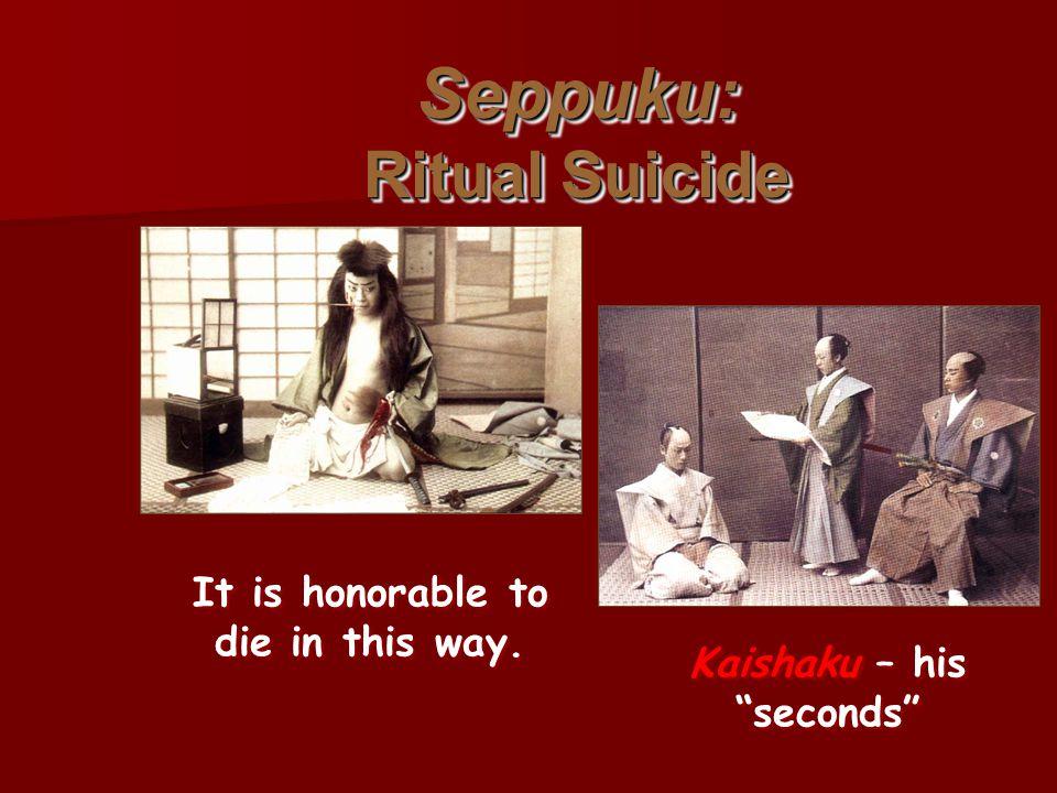 Seppuku: Ritual Suicide