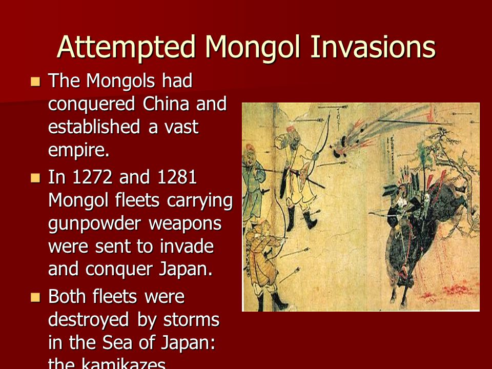 Attempted Mongol Invasions