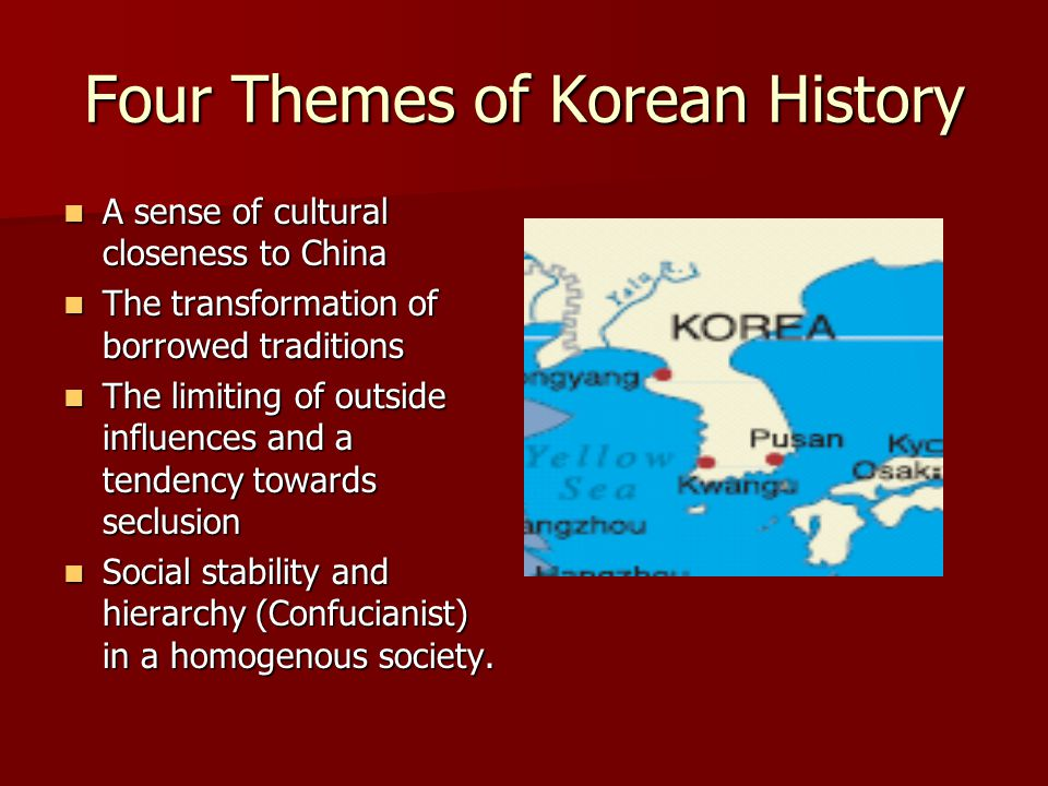 Four Themes of Korean History