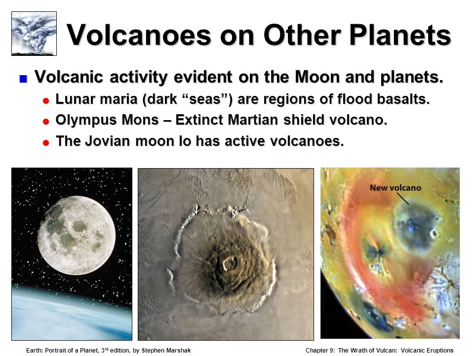 Volcanoes on Other Planets