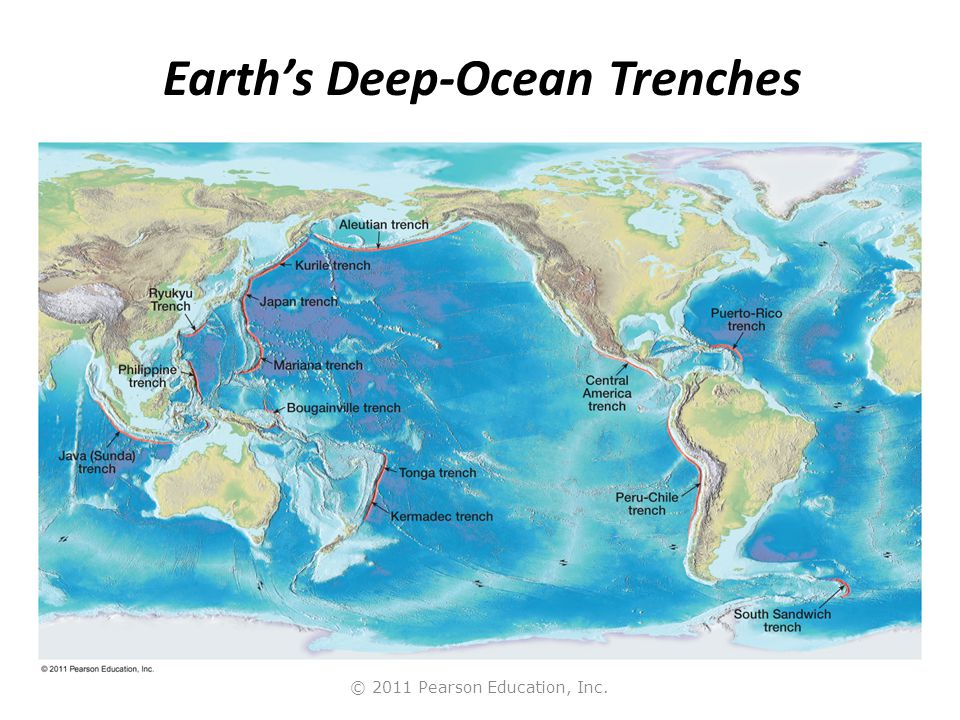 Earth an introduction to physical geology 10e ppt download 17 earths deep ocean trenches gumiabroncs Gallery