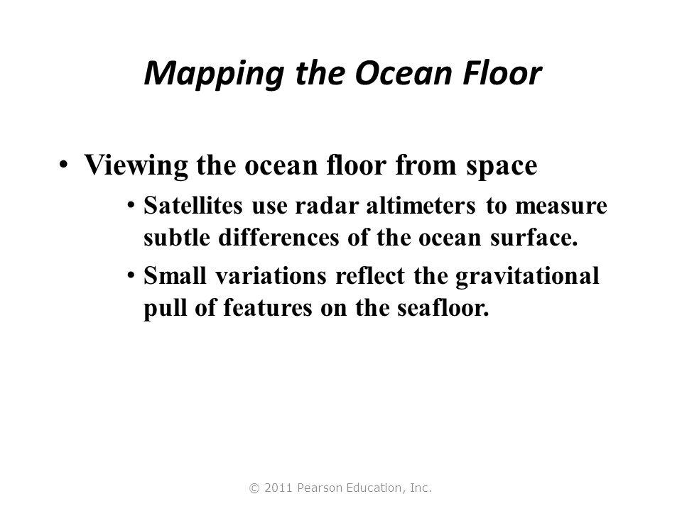 Mapping the Ocean Floor