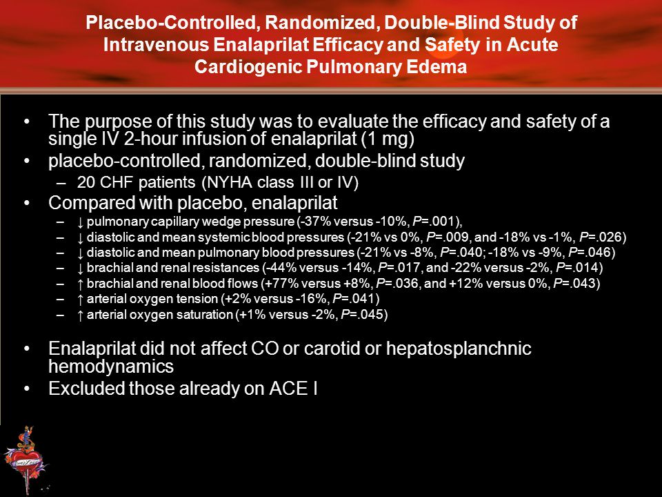 placebo-controlled, randomized, double-blind study