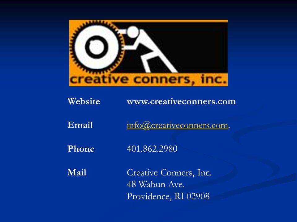 Website www.creativeconners.com
