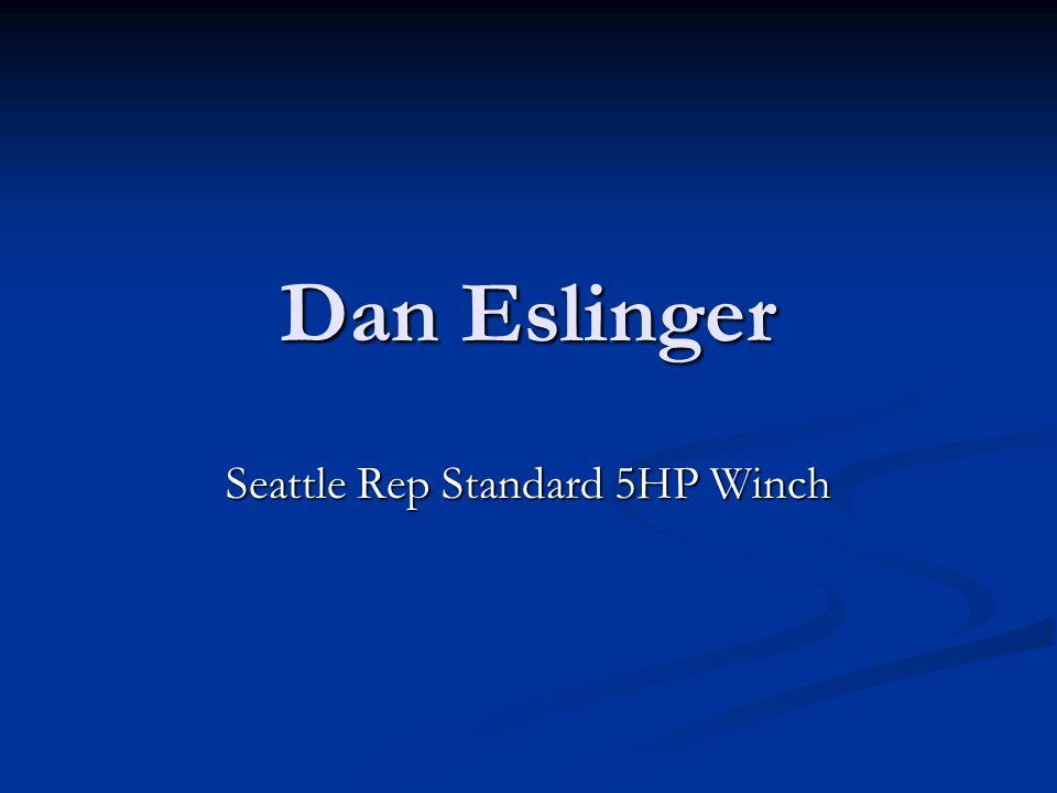 Seattle Rep Standard 5HP Winch
