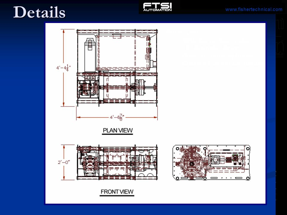 Details Parts List: SEW Servo Gearmotor 16 Diameter Drum