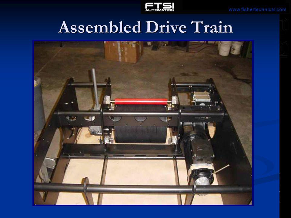 Assembled Drive Train www.fishertechnical.com