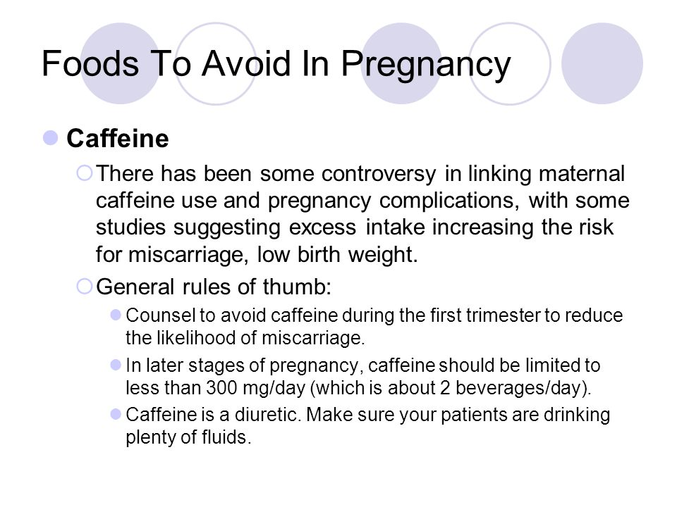 Foods To Avoid In Pregnancy