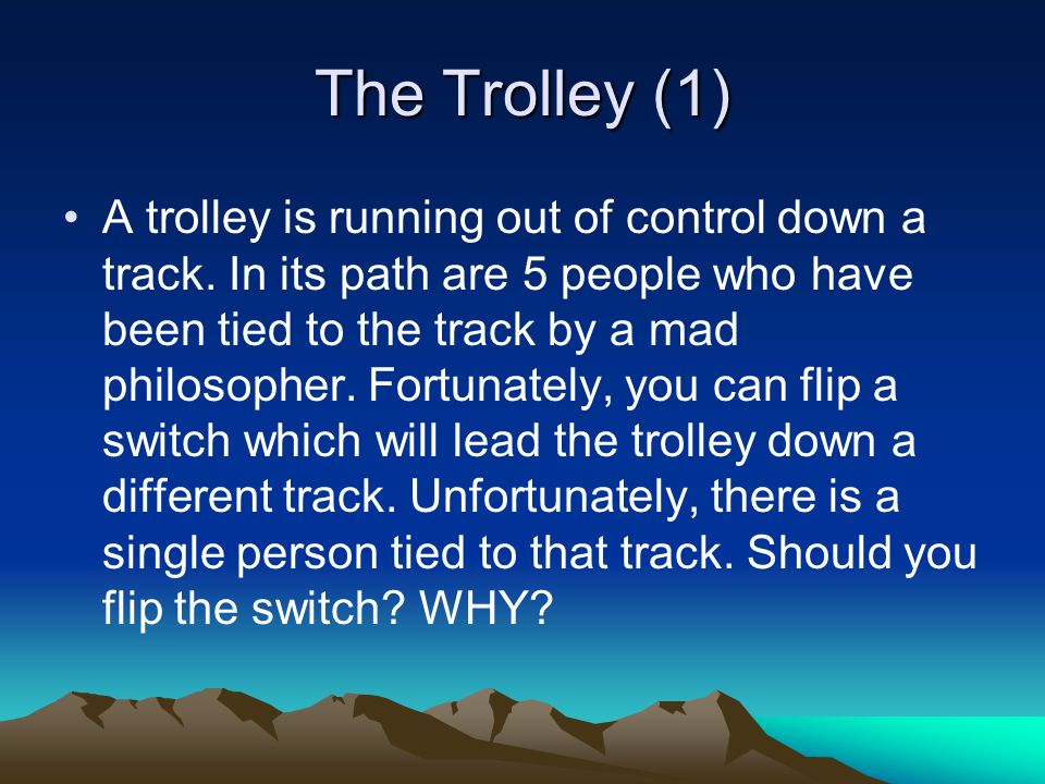 The Trolley (1)