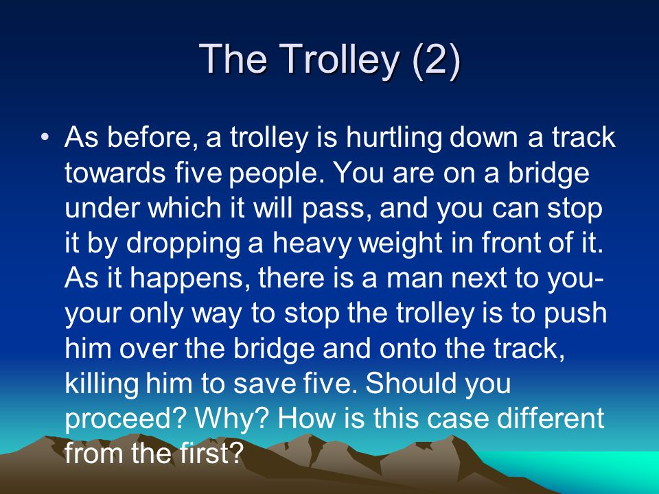 The Trolley (2)
