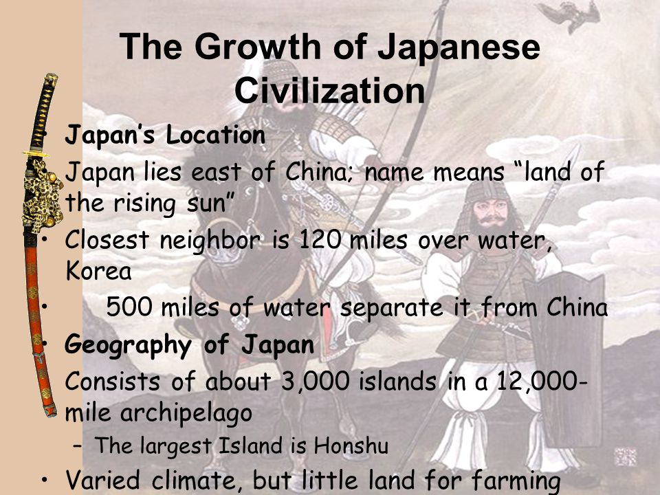 The Growth of Japanese Civilization