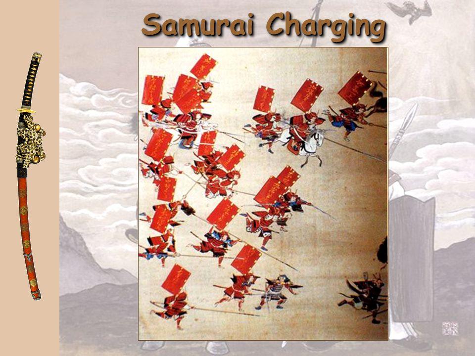 Samurai Charging