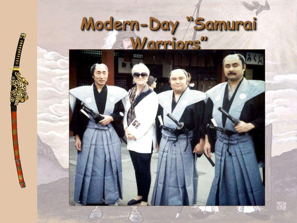 Modern-Day Samurai Warriors