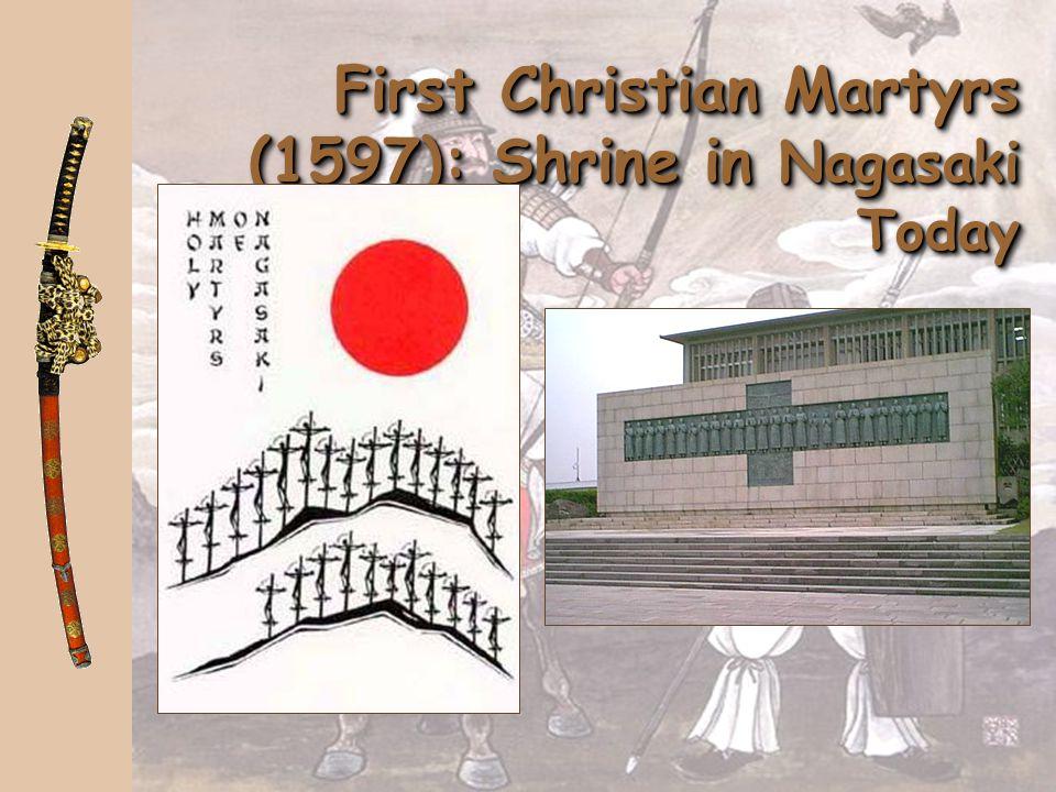 First Christian Martyrs (1597): Shrine in Nagasaki Today