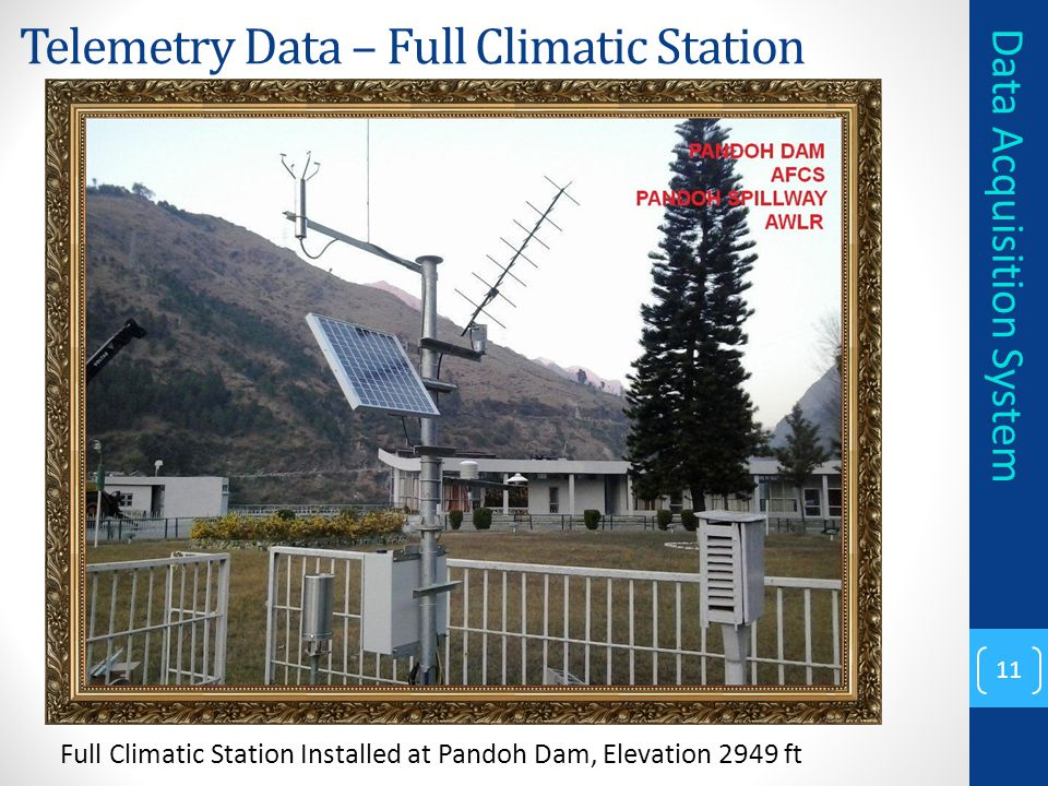 Telemetry Data – Full Climatic Station