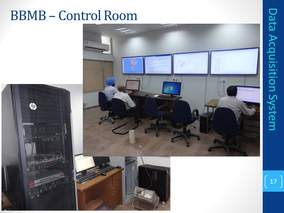 BBMB – Control Room Data Acquisition System