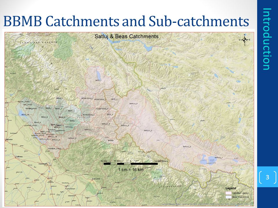BBMB Catchments and Sub-catchments