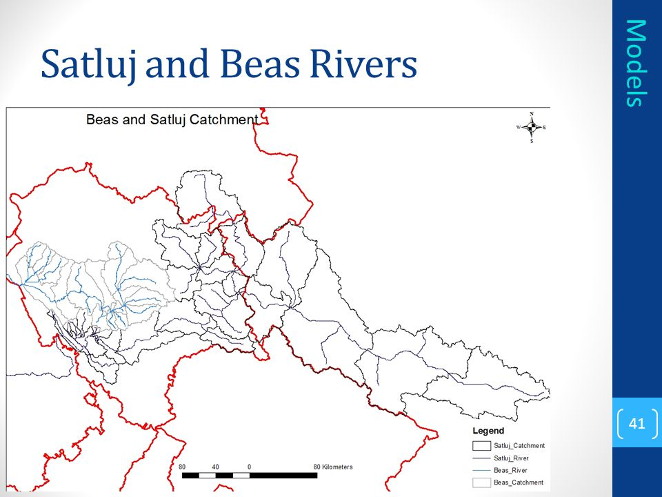 Satluj and Beas Rivers Models