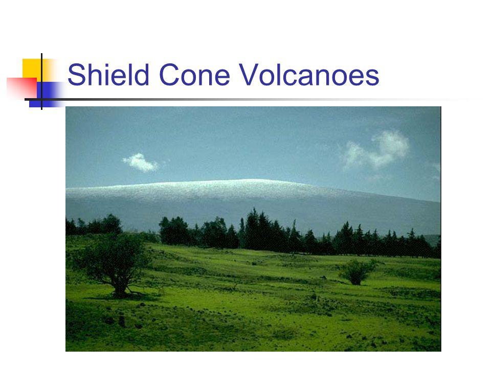 Shield Cone Volcanoes