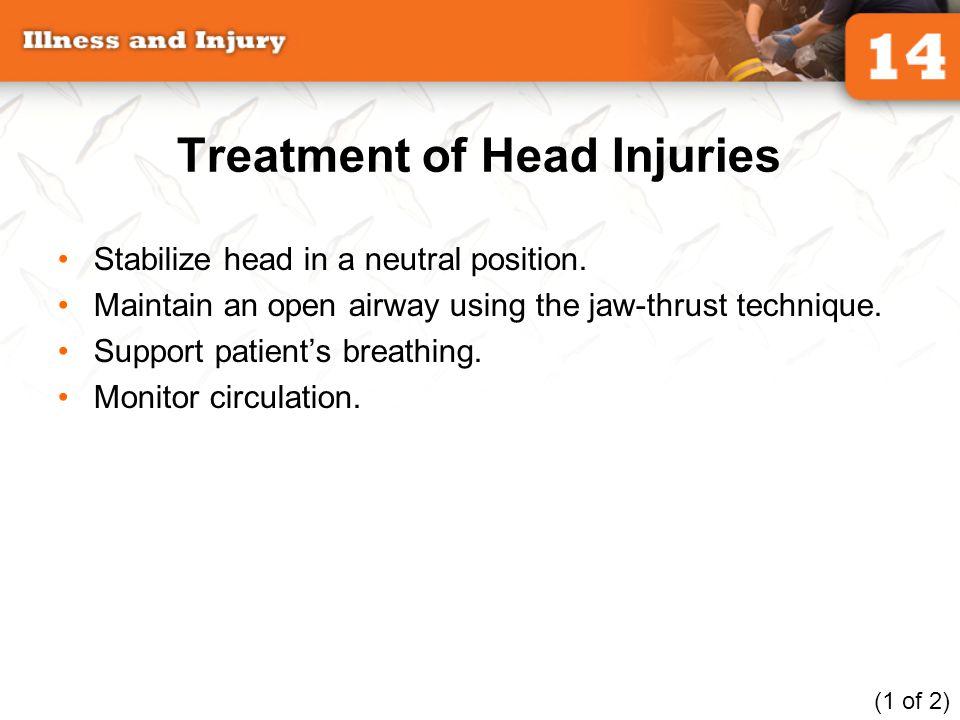Treatment of Head Injuries