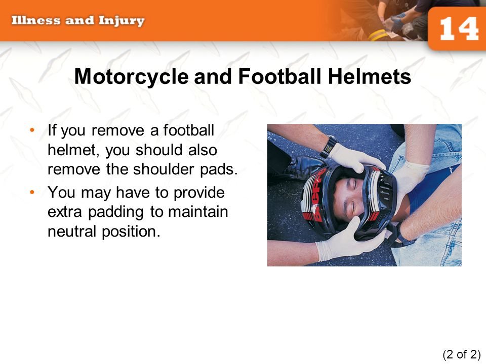 Motorcycle and Football Helmets