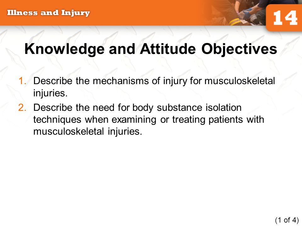 Knowledge and Attitude Objectives