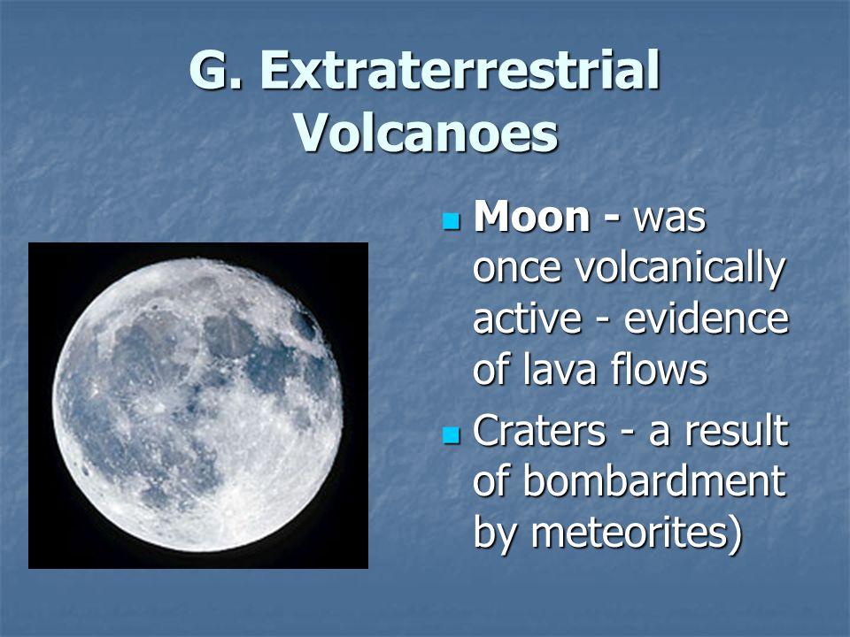 G. Extraterrestrial Volcanoes
