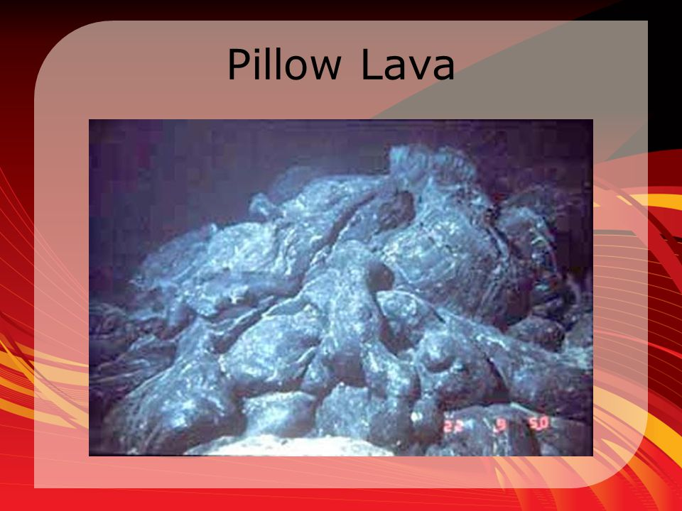 Pillow Lava