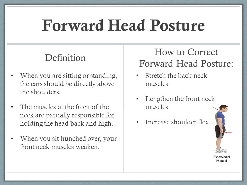 How to Correct Forward Head Posture: