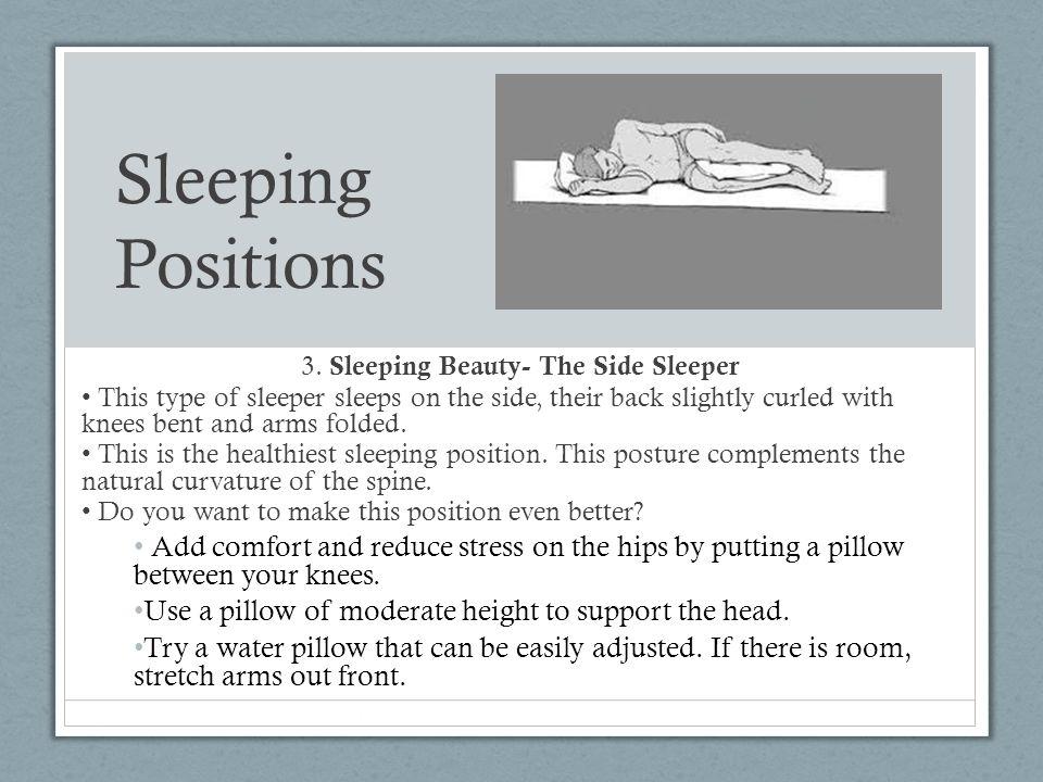 3. Sleeping Beauty- The Side Sleeper