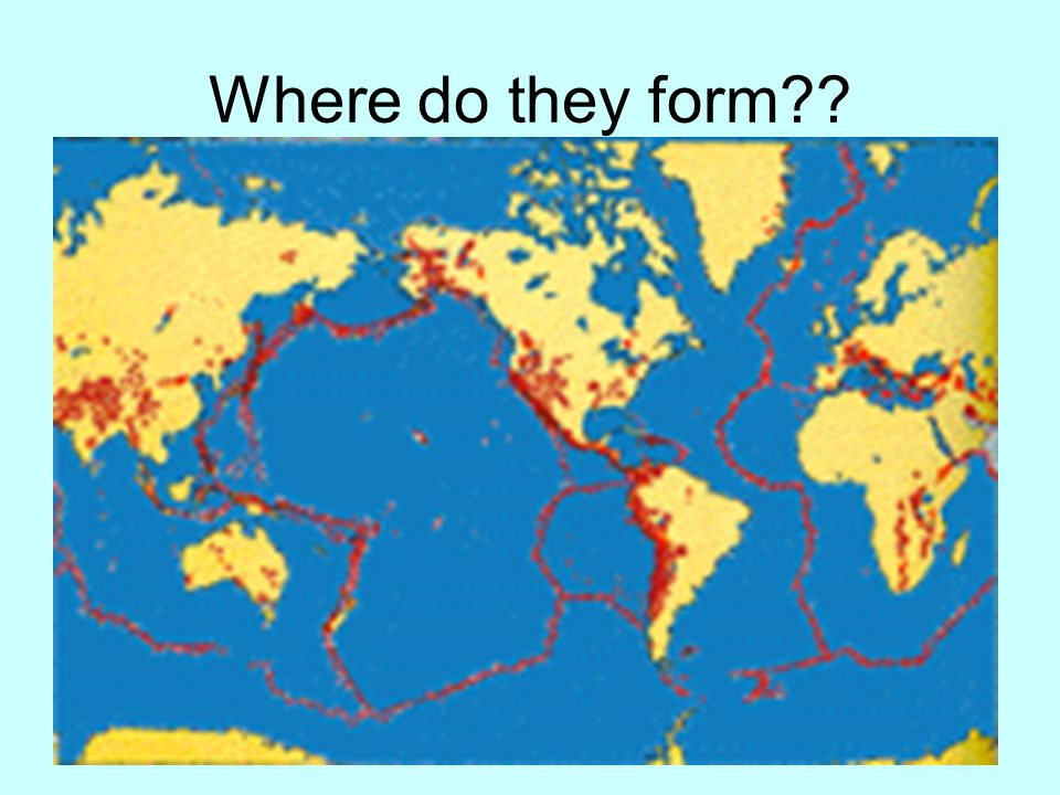 Where do they form