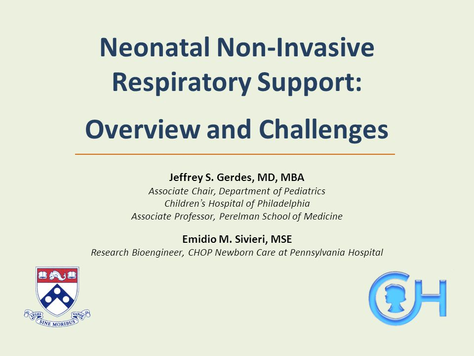 Neonatal Non-Invasive Respiratory Support: Overview and Challenges