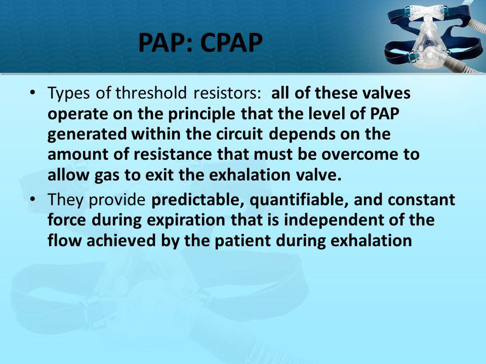 PAP: CPAP