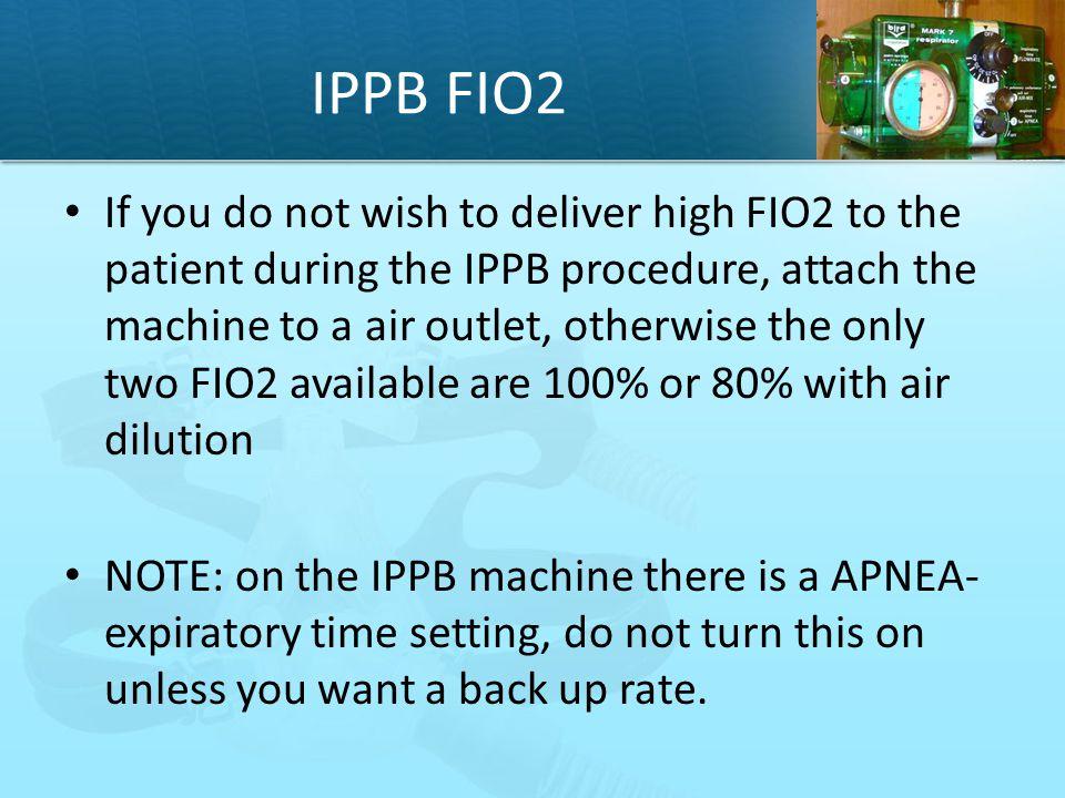 IPPB FIO2