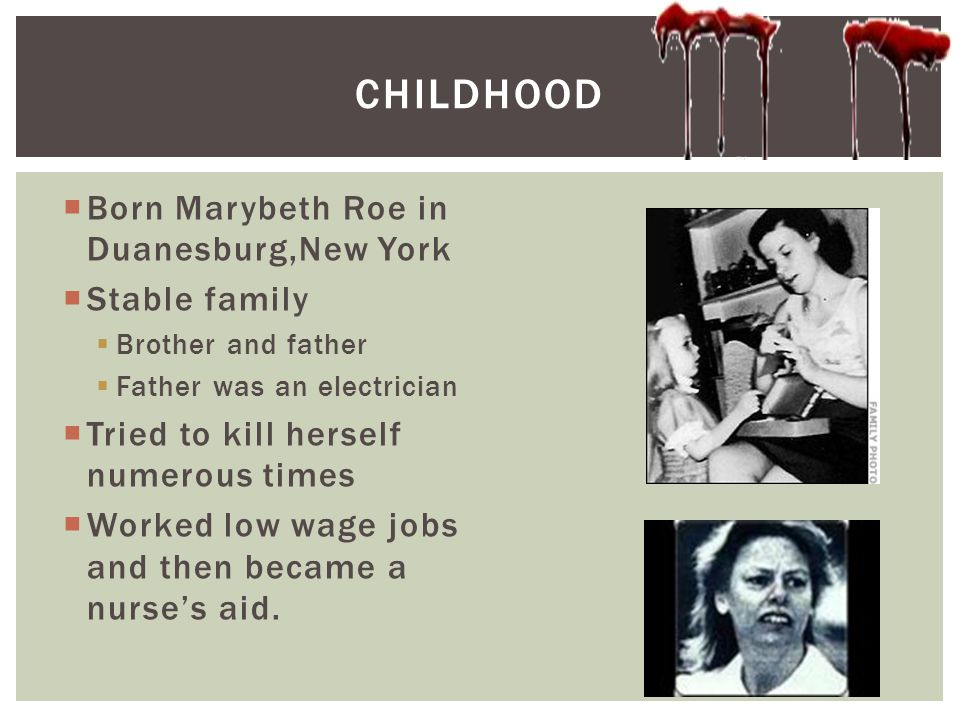Childhood Born Marybeth Roe in Duanesburg,New York Stable family