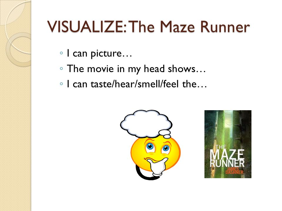 VISUALIZE: The Maze Runner