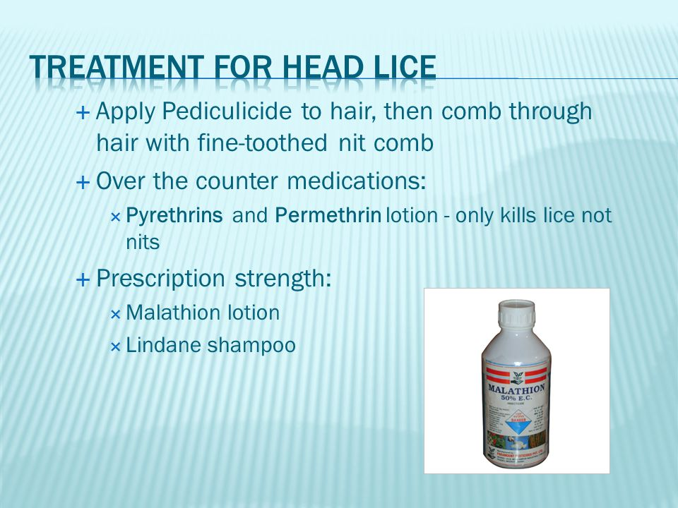 Treatment for Head lice