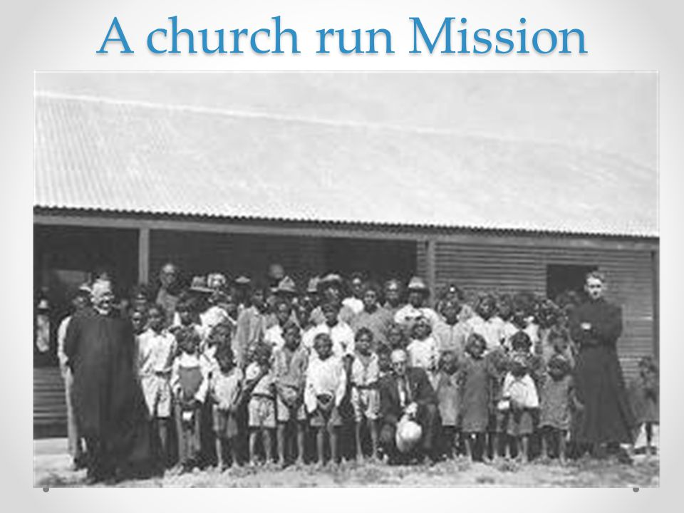 A church run Mission