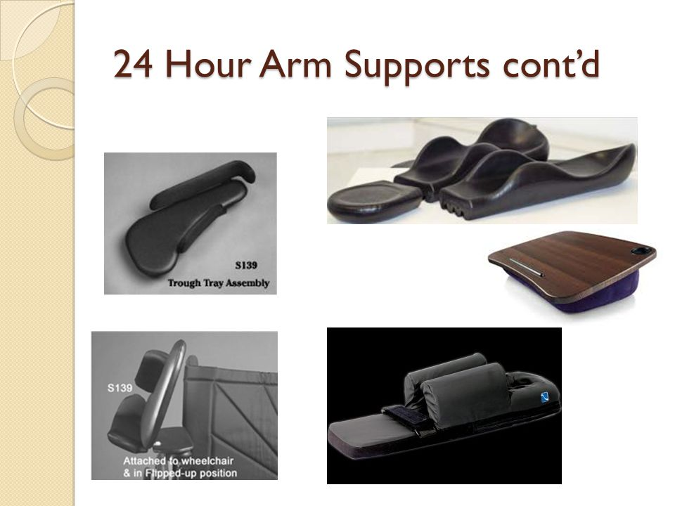 24 Hour Arm Supports cont'd